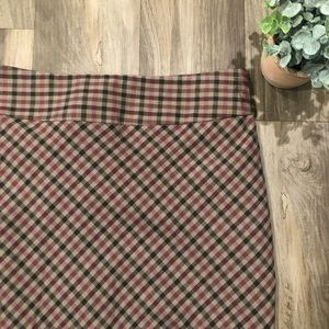 NWT The Limited Plaid vintage look pencil skirt 6